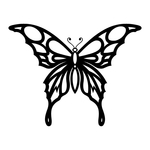 ������ butterfly stencil (17) (700x700, 97Kb)