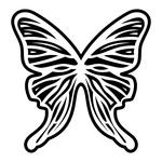 Превью butterfly stencil (19) (700x700, 190Kb)