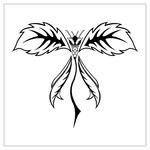 ������ butterfly stencil (32) (700x700, 109Kb)