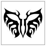 ������ butterfly stencil (36) (700x700, 90Kb)