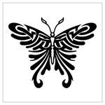 Превью butterfly stencil (37) (700x700, 122Kb)