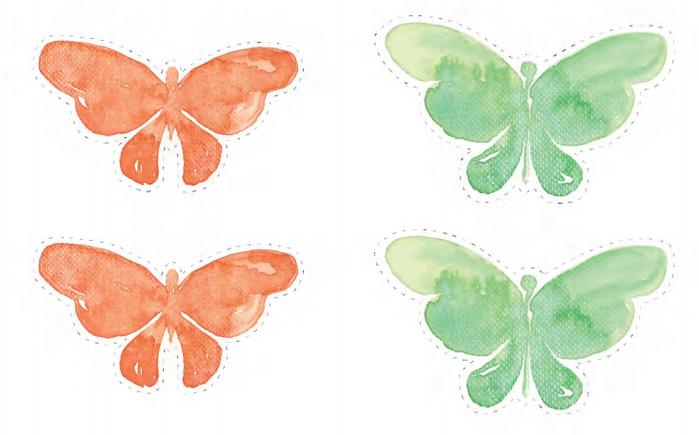 Украшаем интерьер венками с бабочками и перышками (1) (700x435, 269Kb)