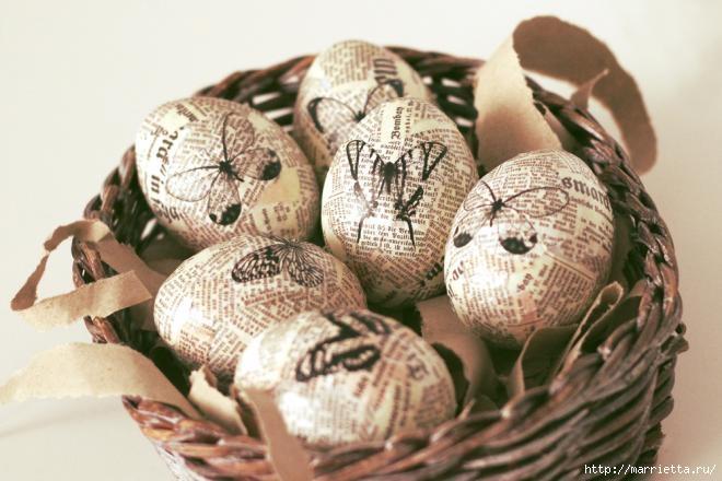 Пасхальные яйца в винтажном стиле (11) (660x440, 146Kb)