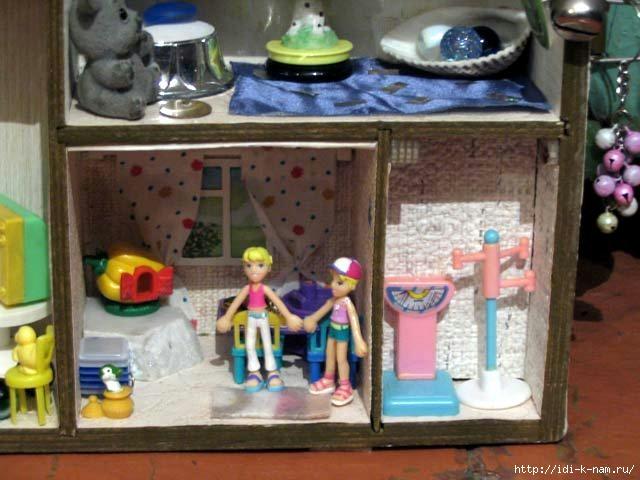 Мой самодельный домик для куклы