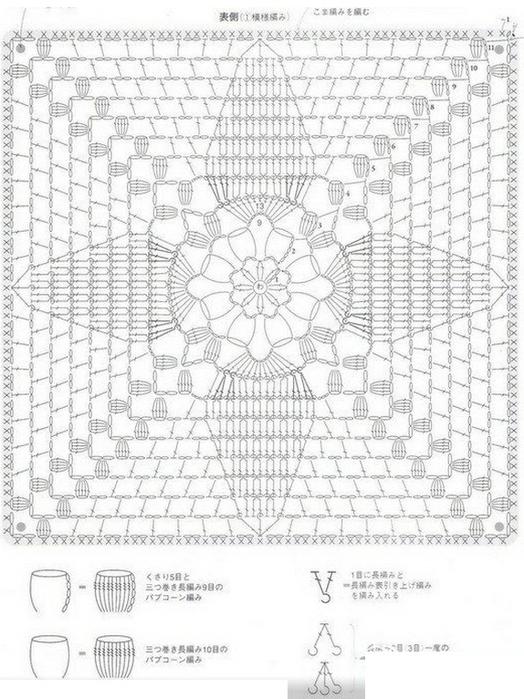 коврик на табурет крючком8 (524x700, 253Kb)