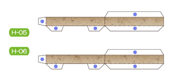 Пахира (Pachira) из бумаги. Цветные шаблоны для распечатки (18) (656x318, 87Kb)