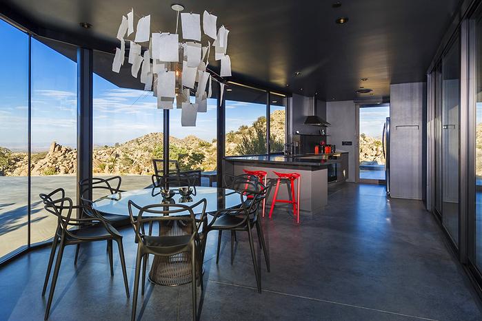 современный дом в пустыне фото 4 (700x466, 420Kb)