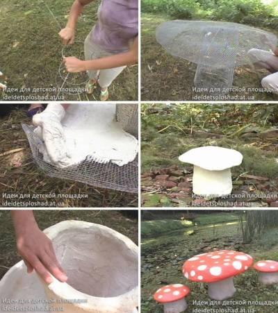 Вазы из цемента своими руками для сада