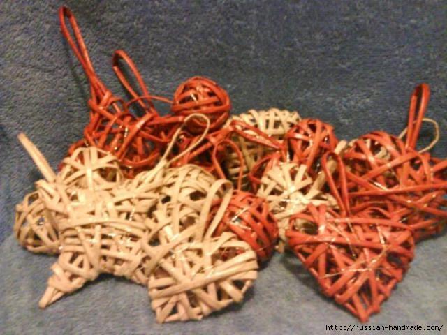 Объемное сердце из газетных трубочек и проволоки. Мастер-класс (18) (640x480, 179Kb)