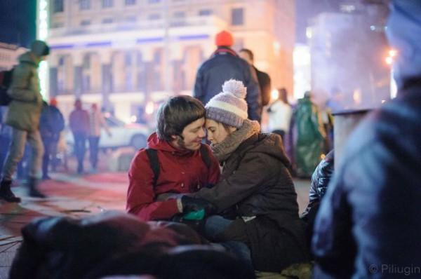 И снова свадебные воздушные шарики будут летать в Киеве.