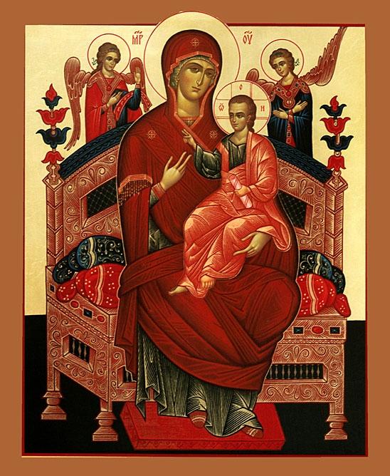 Икона Божией Матери (548x668, 436Kb)