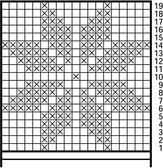 Рисунок узоры для вязания