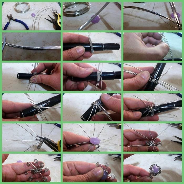 Как сделать кольца из проволоки своими руками