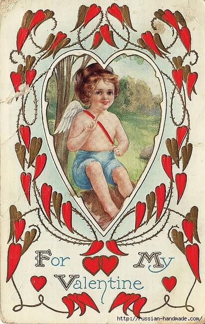 Винтажные картинки ко дню Святого Валентина (4) (405x640, 333Kb)