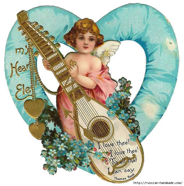 Винтажные картинки ко дню Святого Валентина (6) (633x640, 391Kb)