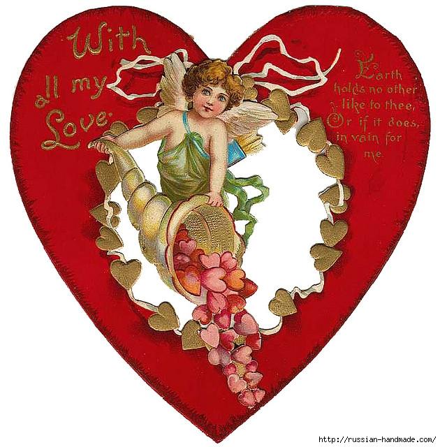Винтажные картинки ко дню Святого Валентина (8) (630x640, 287Kb)
