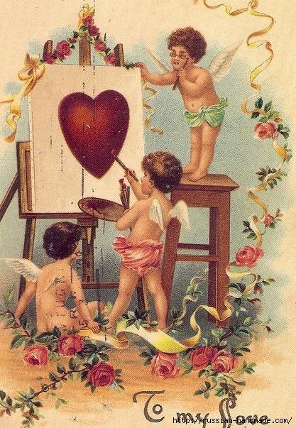 Винтажные картинки ко дню Святого Валентина (12) (417x603, 305Kb)