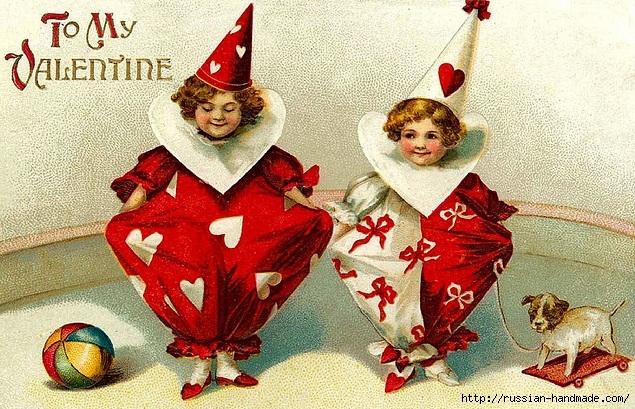 Винтажные картинки ко дню Святого Валентина (16) (635x409, 305Kb)