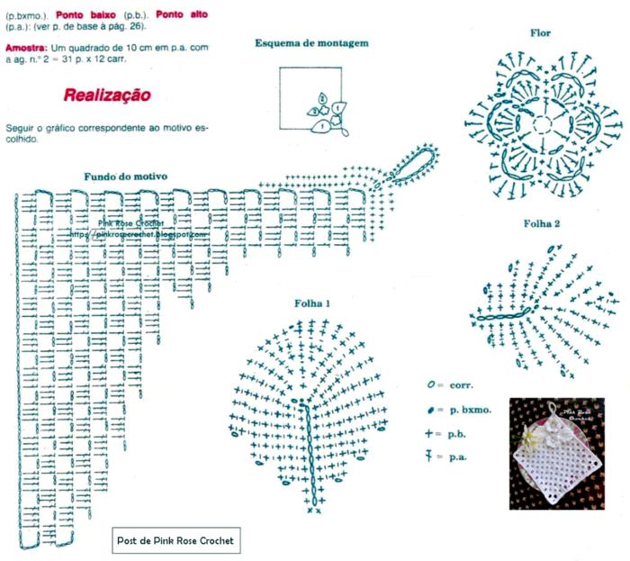 Вязание крючком по схемам. ПРИХВАТКИ (1) (700x623, 427Kb)