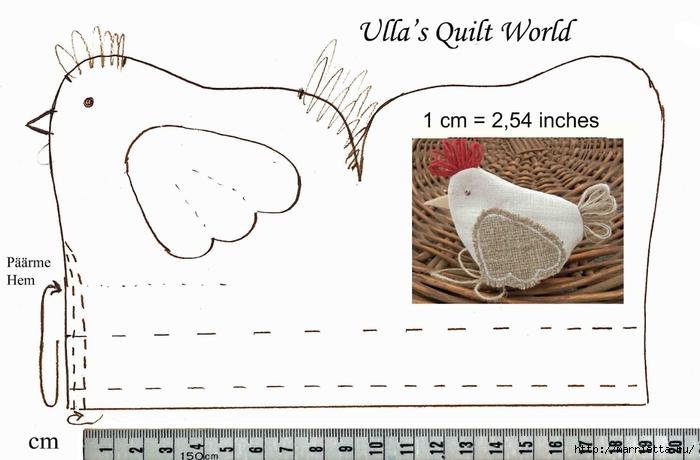 Курочки-несушки для яичек. Шьем сами (6) (700x460, 163Kb)