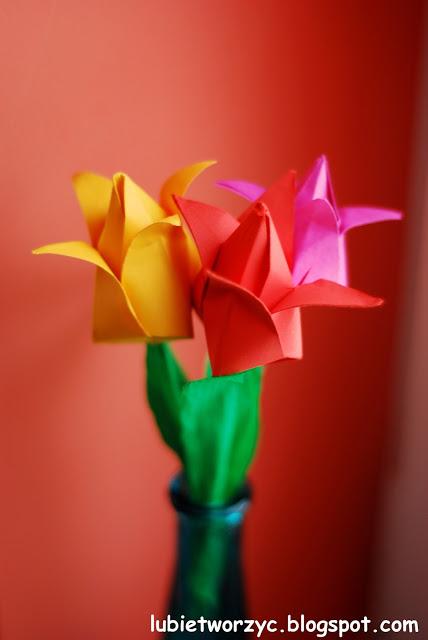 Тюльпаны из бумаги в технике оригами. Мастер-класс (55) (428x640, 120Kb)
