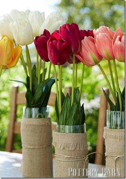 Волшебница мешковина) Стильный декор стаканов для цветов (6) (406x577, 201Kb)
