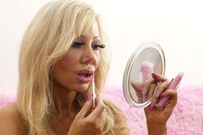Как сделать себя блондинкой на фото