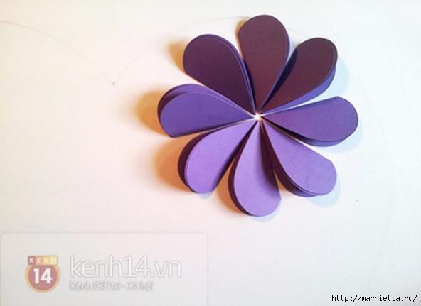сердечные панно из бумаги (4) (592x431, 93Kb)