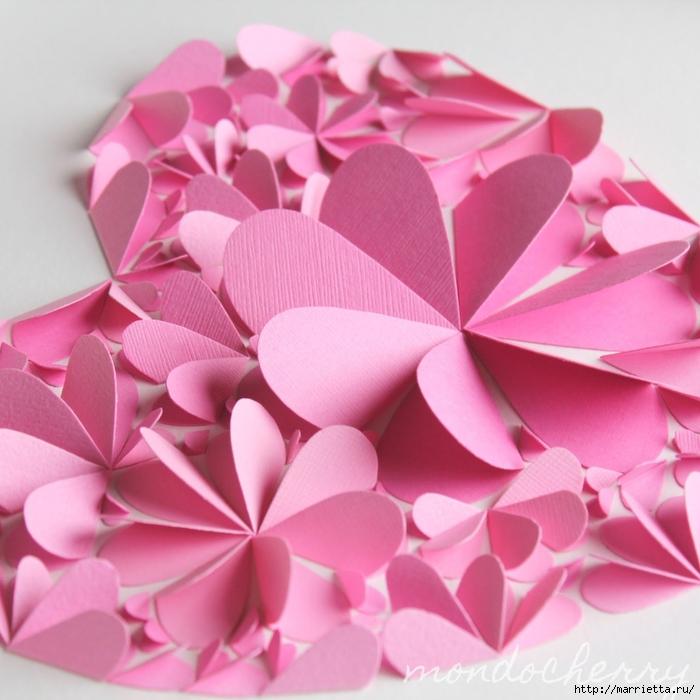 сердечные панно из бумаги (23) (700x700, 282Kb)
