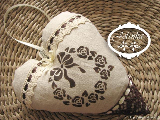 Текстильные сердечки. Большая коллекция очень красивых валентинок (34) (640x480, 219Kb)