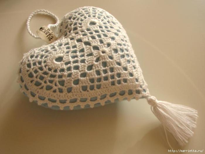 Текстильные сердечки. Большая коллекция очень красивых валентинок (68) (700x525, 165Kb)