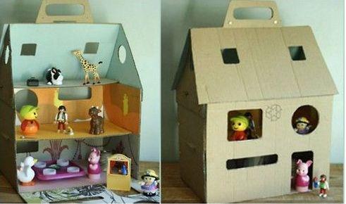 Как сделать домик для куклы Барби своими руками из…