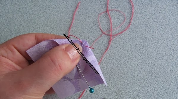 Пэчворк. Создание и сшивание шестиугольников для пледа. Мастер-класс (8) (600x334, 151Kb)
