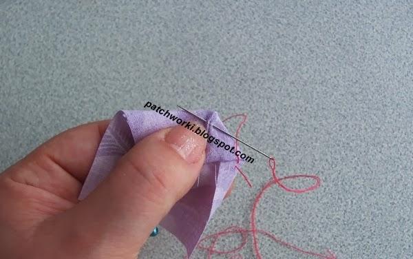 Пэчворк. Создание и сшивание шестиугольников для пледа. Мастер-класс (12) (600x376, 162Kb)