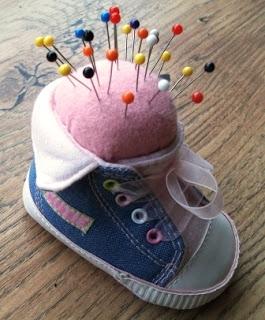 Игольница из детского ботиночка (8) (265x320, 78Kb)