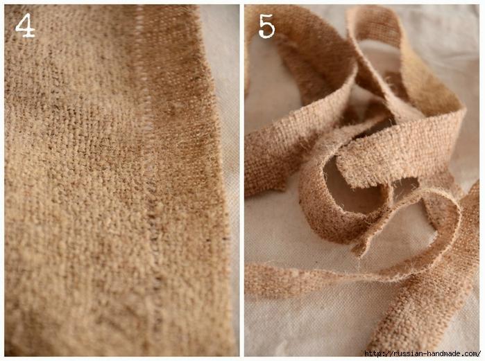 Подушка с розочками из мешковины (2) (700x521, 282Kb)
