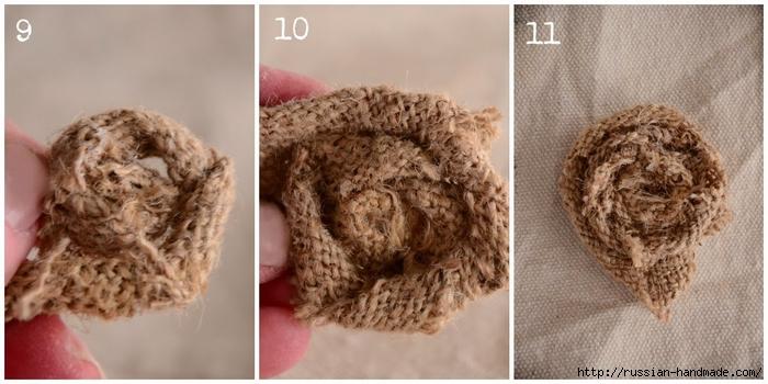 Подушка с розочками из мешковины (4) (700x350, 196Kb)