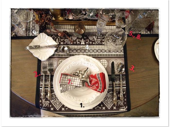 Классическая сервировка стола. Основные правила (6) (700x525, 284Kb)