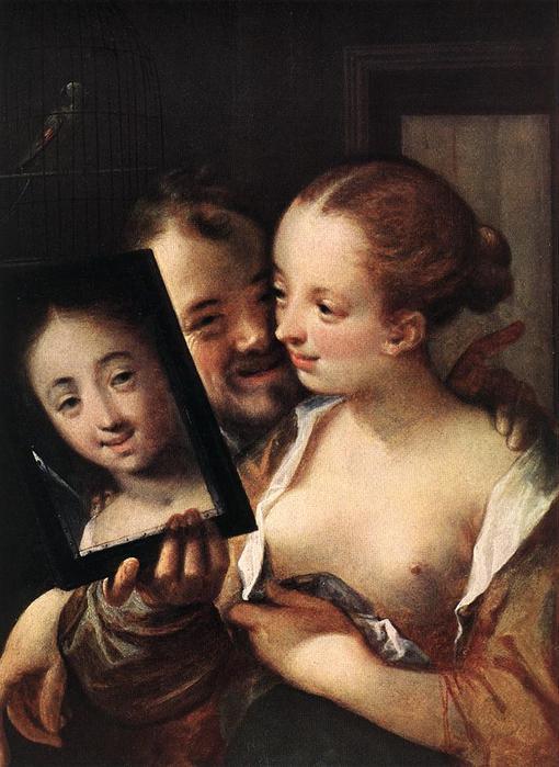 Hans von Aachen.Joking Couple (510x700, 55Kb)