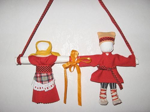 Для изготовления куклы нам