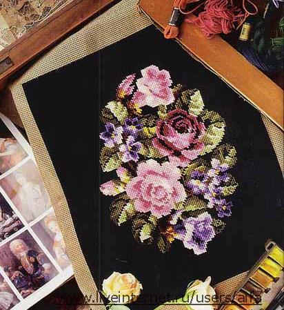 Викторианская вышивка фото