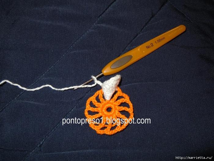 Обвязка крючком для полотенца. Схемы (18) (700x525, 336Kb)