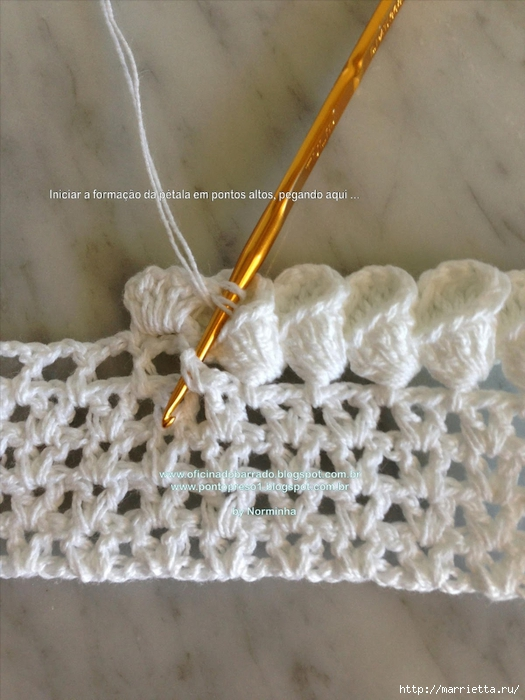 Обвязка крючком для полотенца. Схемы (27) (525x700, 253Kb)