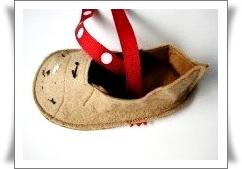 手工布艺:小孩鞋样 - maomao - 我随心动