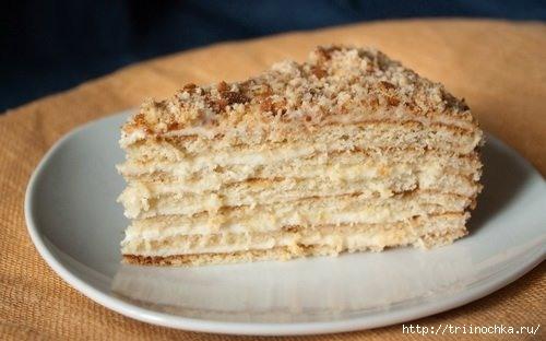 Быстрый торт на сковороде!