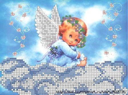ангел на тучке (448x332, 154Kb)