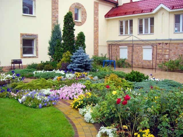 Ландшафтный дизайн для загородных домов