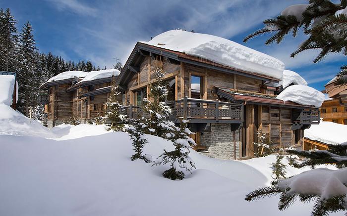 красивый дом в альпах (700x437, 382Kb)