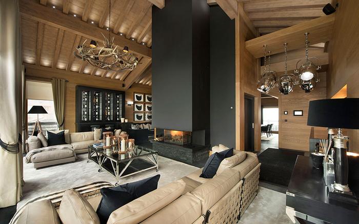 стильный интерьер дома фото 1 (700x437, 368Kb)