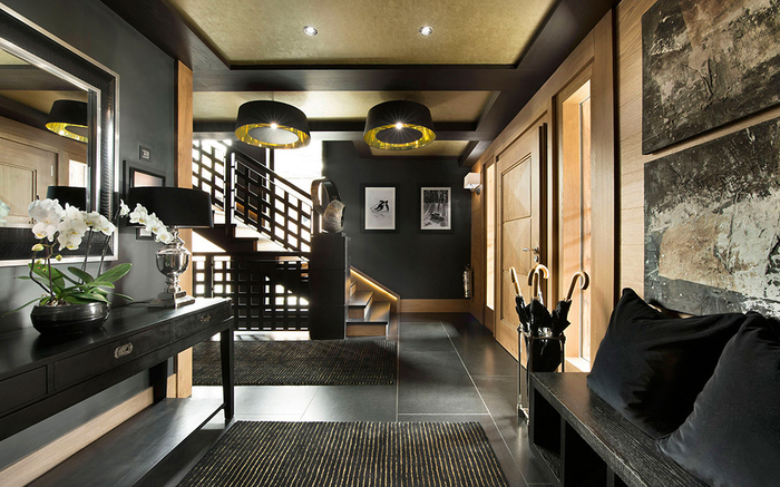 стильный интерьер дома фото (700x437, 393Kb)
